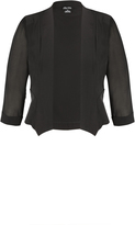 City Chic Black Cropped Blazer Jacket