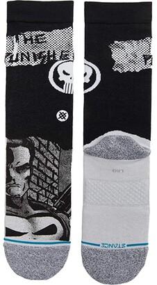 Stance Punisher (Black) Crew Cut Socks Shoes