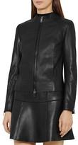 Reiss Erika Leather Jacket