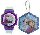 Disney Girl's Quartz Plastic Casual Watch, Color:Blue (Model: FNFKD16013FL)