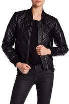 7 For All Mankind Quilted Leather Jacket