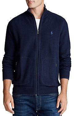 Polo Ralph Lauren Zip-Front Mockneck Sweater