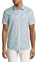 John Varvatos Printed Cotton Shirt