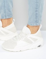 Puma Blaze of Glory Sock Sneakers In White 36203802
