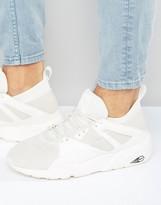 Puma Blaze Of Glory Sock Trainers In White 36203802