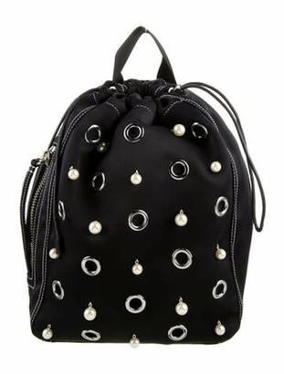 3.1 Phillip Lim Nylon Embellished Backpack Blue