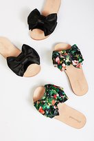 Jeffrey Campbell Bow Tie Slip On Sandal by at Free People