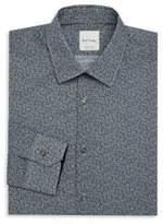 Paul Smith Mini Floral Print Dress Shirt