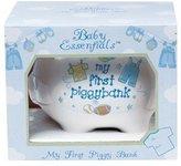 Baby Essentials My First Piggy Bank White/boys by