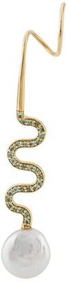 Maria Black Miraggio twirl earrings