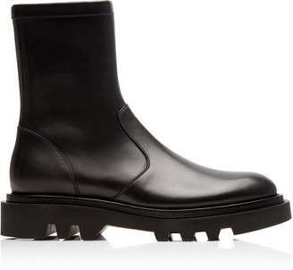 Givenchy Combat Leather High Boots