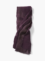 John Varvatos Wool and Modal Scarf