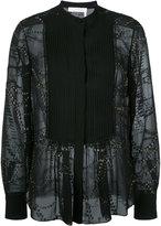 Chloé starry sky blouse - women - Silk/Polyamide/Polyester - 42