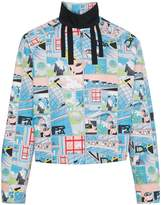 Prada comic book print Harrington jacket