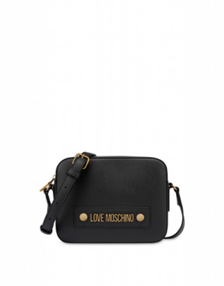 Love Moschino Shoulder Bag With Logo Woman Black Size U It - (one Size Us)