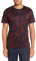 Ted Baker Men's Big & Tall Floral Print T-Shirt