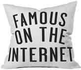 "Deny Designs Leeana Benson Famous 16"" Square Decorative Pillow"