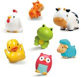 Munchkin Squirtin Farmyard Friends Bath Toys - 8 Pack