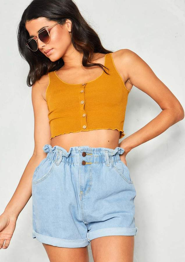 33603f678d3 Missy Empire Yellow Sleeveless Tops For Women - ShopStyle UK