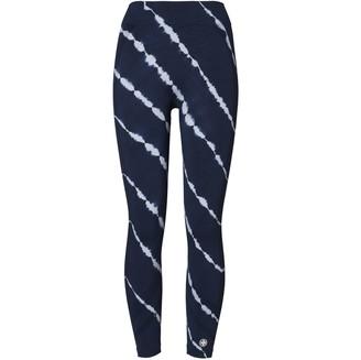 Tory Burch High-Rise Seamless Tie-Dye 7/8 Leggings