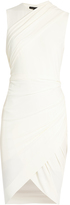 Alexander Wang Draped jersey sleeveless dress