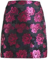 Fashion Union MEL JACQUARD Mini skirt fuchsia