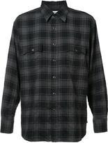 Saint Laurent classic checked shirt - men - Cotton/Spandex/Elastane - L