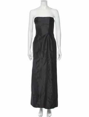 Just Cavalli Strapless Long Dress w/ Tags Black