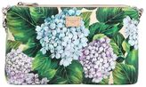 Dolce & Gabbana Sicily Dauphine Hydrangea Print Clutch