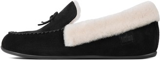 FitFlop Clara Shearling Moccasin Slippers