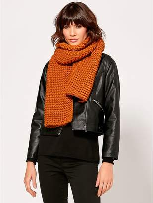 M&Co Knitted scarf