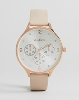 Aldo Minimal Rose Gold Watch