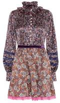 Marc Jacobs Robe en soie imprimée
