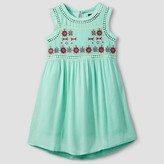 STELLA & SIENNA Girls' Stella & Sienna Embroidered A Line Dress - Mint Green