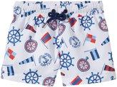 Sunuva Riviera UPF 50+ Swimshorts (Baby) - White - 1-2