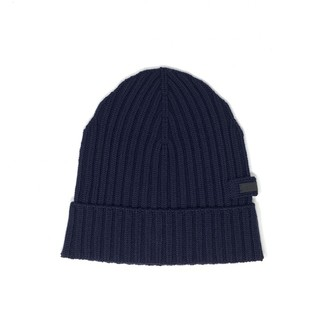 Prada Navy Wool Hats & pull on hats
