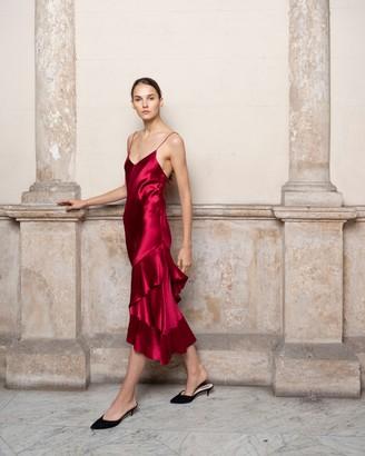 Adriana Iglesias Carmen Dress
