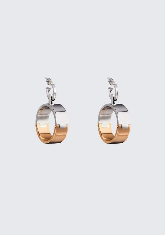 Alexander Wang BI COLOR HOOP EARRINGS Jewelry