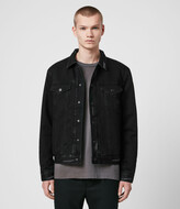 AllSaints Brind Reversible Denim Jacket