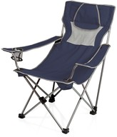 Picnic Time 'Campsite' Camp Chair - Navy with Grey