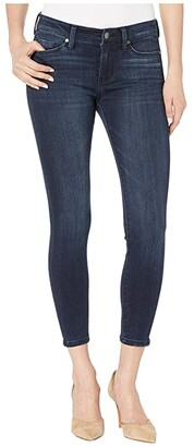 Liverpool Petite Penny Ankle in Silky Soft Stretch Denim in Westport Wash (Westport Wash) Women's Jeans