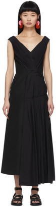 Marni Black Drape Dress
