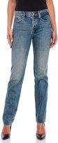 Earnest Sewn Victoria High-Waist Straight Leg Jeans