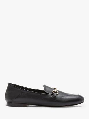 Mint Velvet Camille Leather Loafers
