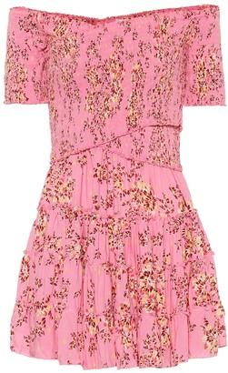 Poupette St Barth Exclusive to Mytheresa Soledad floral minidress