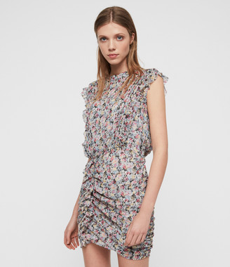 AllSaints Hali Sketch Dress