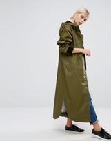 Monki Longline Rain Coat