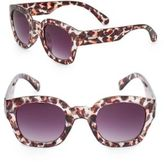 MinkPink Pour It Up 46MM Cat's Eye Sunglasses