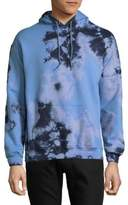 Original Paperbacks Abstract-Print Cotton Hoodie