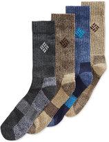 Columbia Crew Socks, 4 Pack